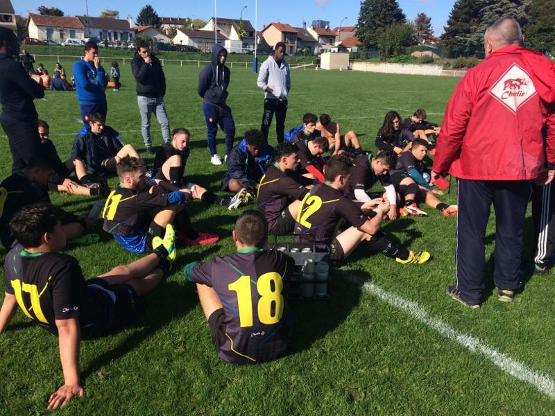 Rugby Val de marne pompadour VDMP juniors 01/10/16