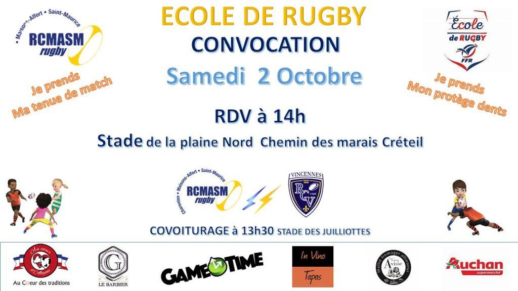 RCMASM EDR Convocation 02/10/2021