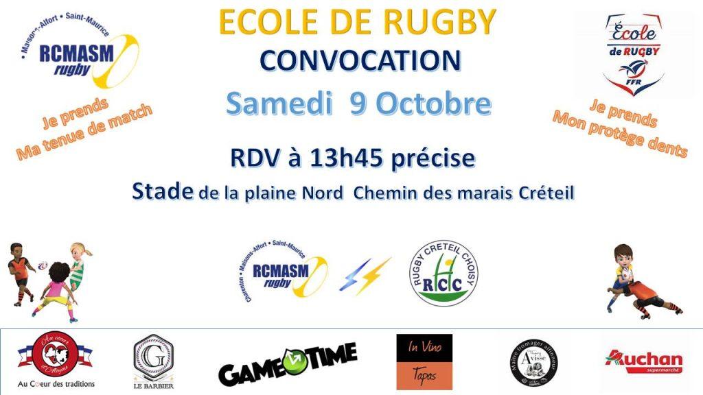 RCMASM EDR Convocation 09/10/2021